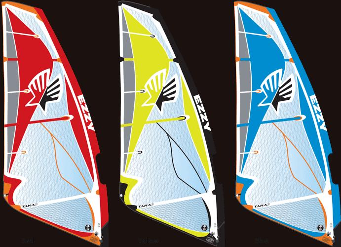 2017 Ezzy Taka3 Wave Sail