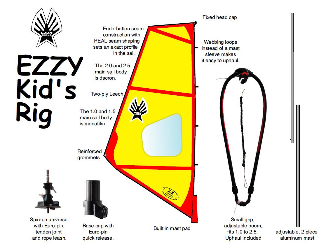 Kids Rigs | Ezzy Sails